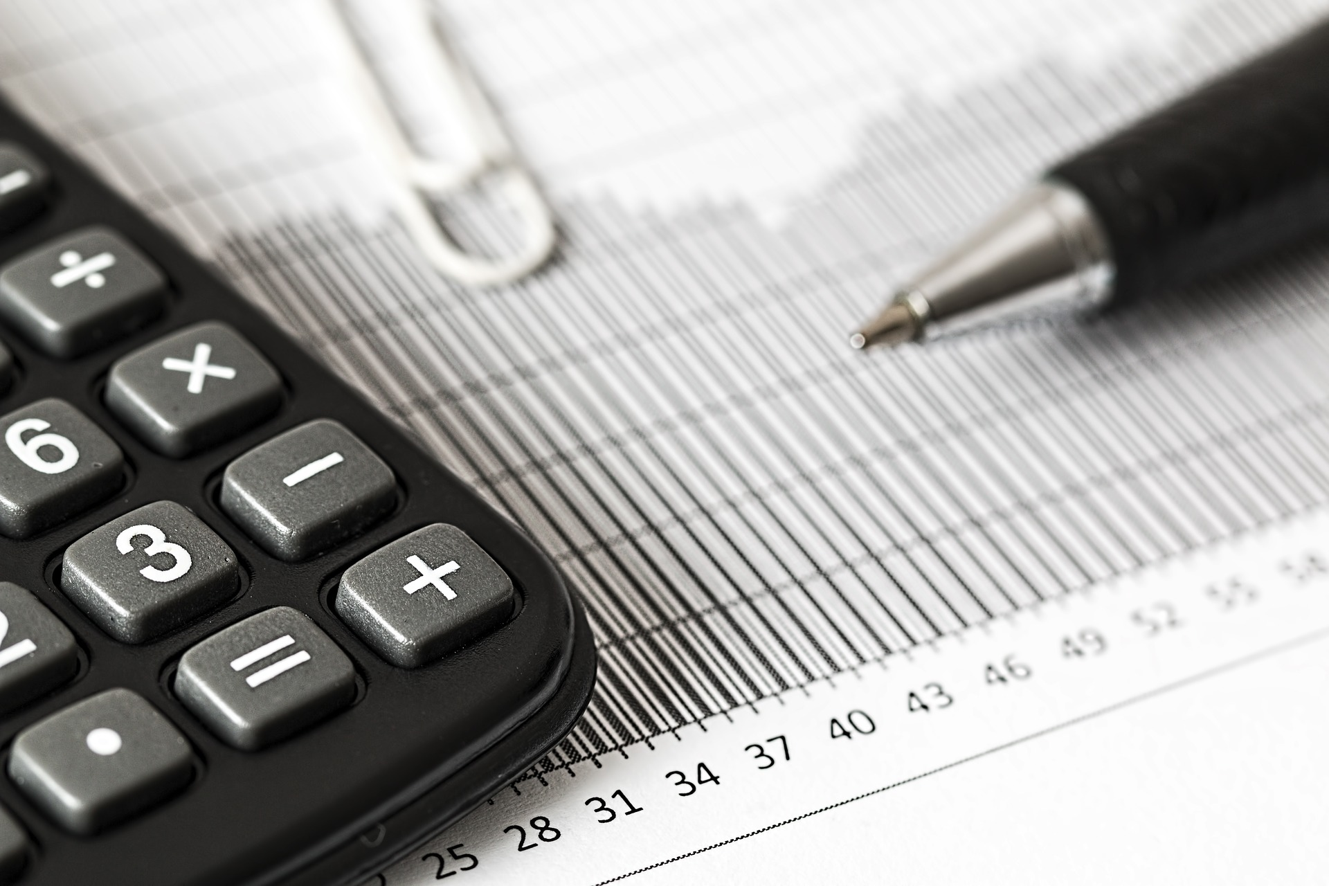 Accounting and Bookkeeping Header